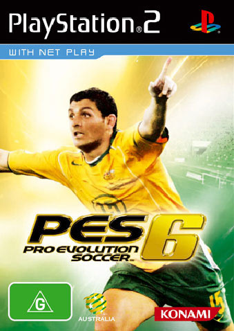 Luckily Konami Australia chose this over when he celebrated against Japan.